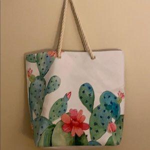 🌵 Oversized Cactus Beach Tote Shopping Bag 🌵